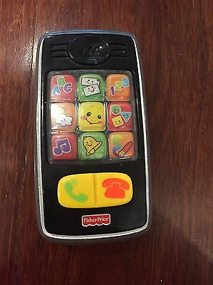 Fisher Price Mobile Phone With Light, Sound And Music