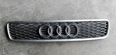 OEM Audi A4/S4 B5 1996-2001 RS4 FRONT Grill EURO DIAMOND MESH genuine grille