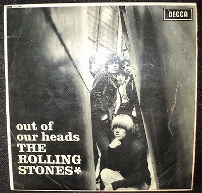 A Very Nice Original First Pressing The Rolling Stones,,out Of Our Heads L.p...
