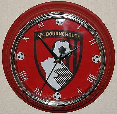 AFC Bournemouth Red Wall Clock