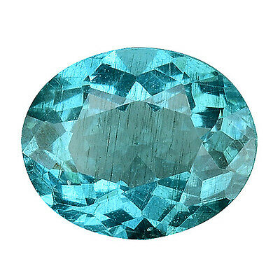 1.115Cts  Dazzling Top Luster Blue Green Natural Apatite Oval Gemstones