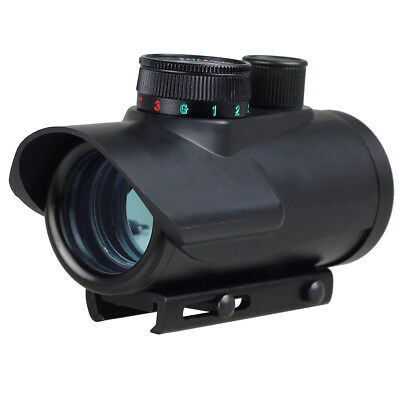 1 x 30mm Red/Green/Blue Dot Sight Rifle Scope For Rifle w/ 20mm Mount
