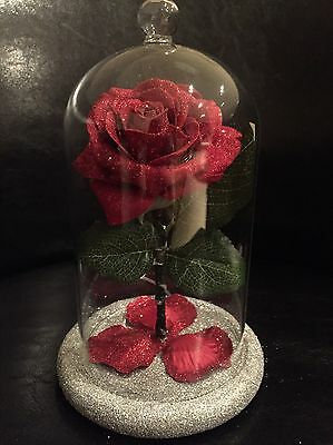 Beauty And The Beast Inspired Enchanted Rose Light VALENTINES WEDDING