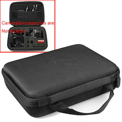 Black Middle Carry Travel Storage Protective Bag Case For Gopro Accessories FM