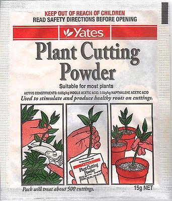 Yates PLANT CUTTING POWDER rooting hormone 15g - NEW Sealed - FREE P&H Australia