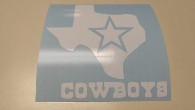 Window Toolbox Stickers #507 Go Texans Piss on Dallas Cowboys Stickers