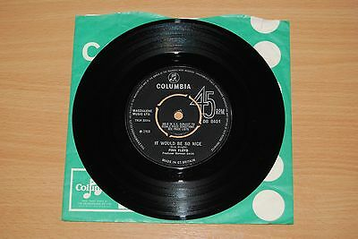"PINK FLOYD It Would Be So Nice UK 7"" NICE 1968 COLUMBIA DB 8401"