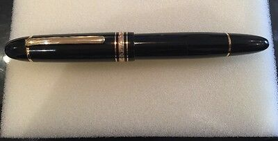 Mont Blanc Meisterstuck fountain pen 18k nib (with ink in Presentation box)