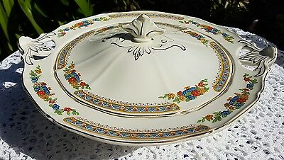 Vintage beautiful Alfred Meakin tureen. Made in England