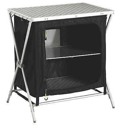 Outwell Bahamas Camping Cupboard with Shelves - RN55