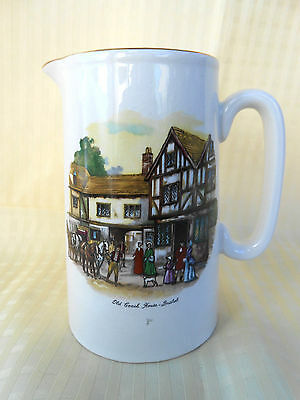 Lord Nelson Ware Jug 'Old Coach House Bristol' 14cm high