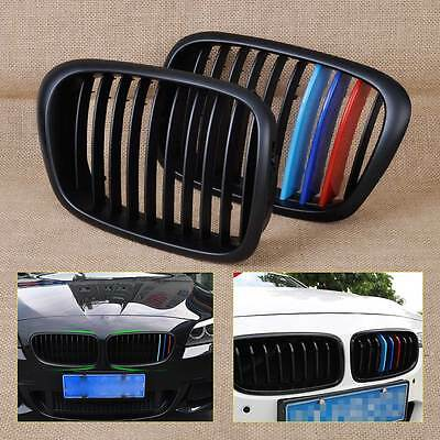 M Color Front Kidney Grill Grille for BMW 5 Series E39 525 528 530 540 1995-2004