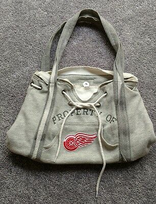 NHL Detroit Red Wings Ladies Hoodie Purse
