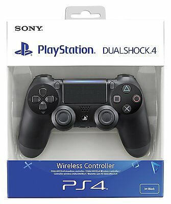 Controller Ps4 Dualshock 4 V2 Nero Sony Playstation 4 Nuovo