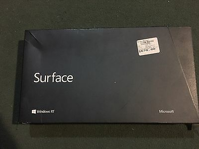 Microsoft Surface RT 32GB, Wi-Fi, 10.6in - Dark Titanium Tablet (with Touch Cov…