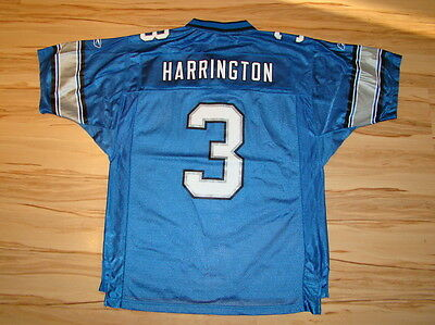 Detroit Lions American Football NFL REEBOK SIZE M HARRINGTON 3