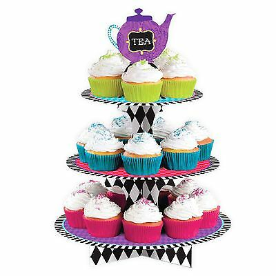 Mad Hatters Tea Party Treat Cake Stand Alice in Wonderland Birthday Hen Party