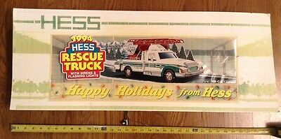 RARE 1994 Hess Toy Truck advertsing protype