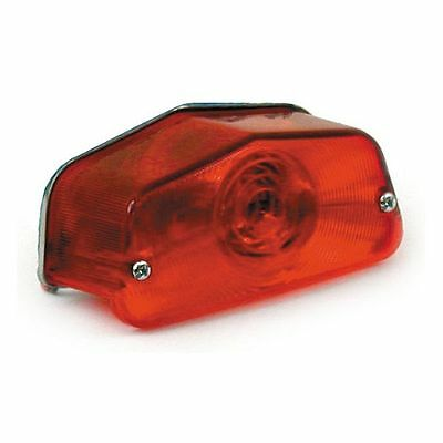 Fanalino Fanale Posteriore Lucas ECE Moto Harley Sportster Dyna Softail Touring