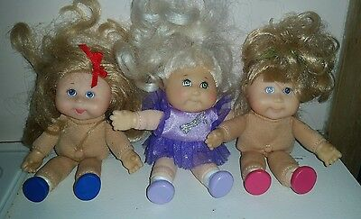 3 Cabbage Patch Kids - Mini - Lil Sprouts - CPK