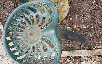 antique tractor seat Mitchell & Co West Footscray
