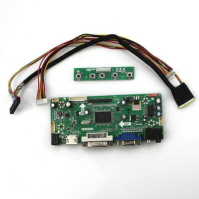 LCD HDMI DVI VGA Controller board Kit for B101AW03 V.0 LED Panel 1024X600 Sceen