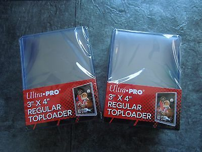 Ultra Pro | 50x Regular Toploader  Card Protection Top Loader NEU OVP