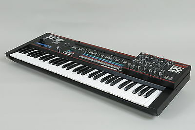 Roland JX-3P vintage polyphonic synthesizer with PG-200 Programmer