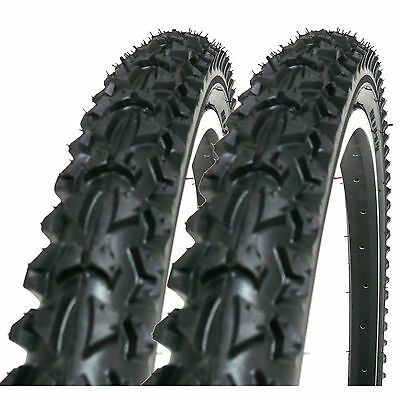 """2X COYOTE TY2604 PRO 26"""" x 1.95 BICYCLE TYRES 26 INCH MOUNTAIN BIKES (1 PAIR)"""