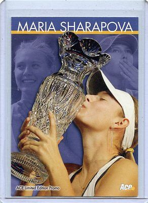 2005 Ace Authentic Maria Sharapova Promo Rookie Card