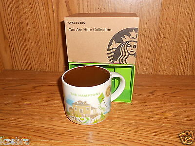 Hamptons, The Starbucks You Are Here Mug 14 Oz, New In Box