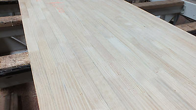 3mt x720mm x 35mm thick PINE KITCHEN BENCHTOP bench  timber benches bar $200ea