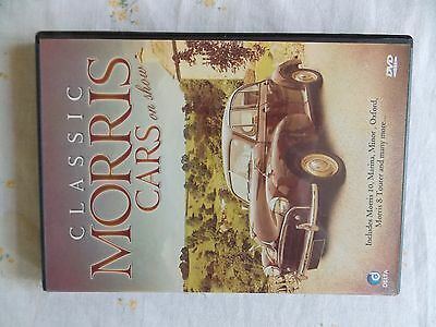 CLASSIC MORRIS CARS ON SHOW DVD RUNNING TIME 48mins