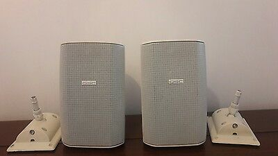 QSC Hi-Fi Speakers with wall mounts