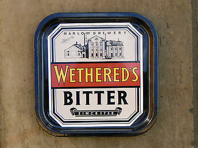 1980's Wethered Marlow Brewery Tray