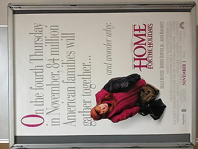 Cinema Poster: HOME FOR THE HOLIDAYS 1995 (One Sheet) Jodie Foster Holly Hunter