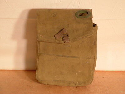 WW2 Post War British Australian Army Wireless Set A510 Receiver Canvas Carrier