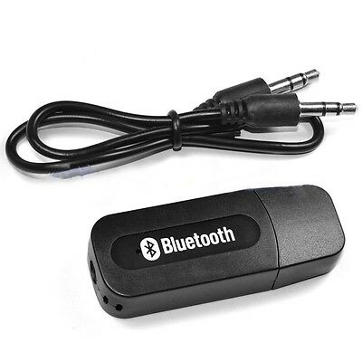 USB2.0 BLUETOOTH MUSIC RECEIVER 3.5mm AUDIO STEREO SPEAKER WIRELESS AUX PORTABLE