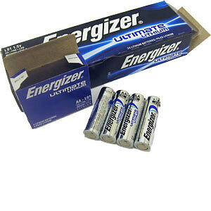 50 X ENERGIZER AA ULTIMATE AA LITHIUM BATTERIES LR6 L91 NEW 1.5v LONG EXPIRY