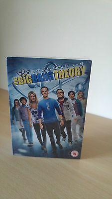 The Big Bang Theory - Series 1-6 - Complete (DVD, Box-Set) New & Sealed