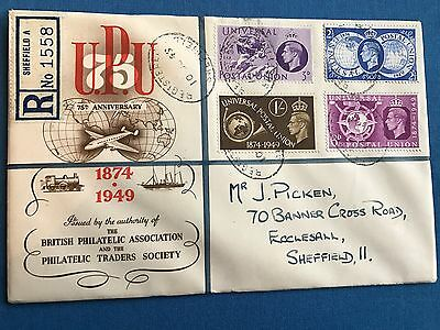Great Britain, 1949 UPU First Day Cover