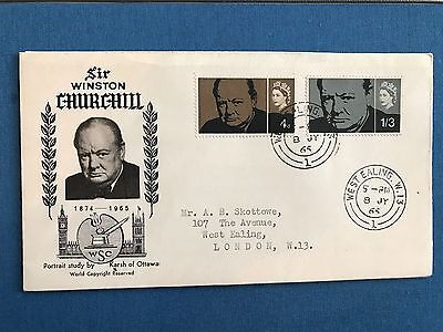 Great Britain, 1965 Winston Churchill First Day Cover