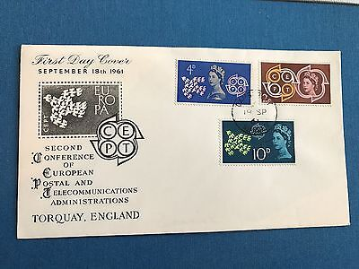 Great Britain, 1961 CEPT First Day Cover