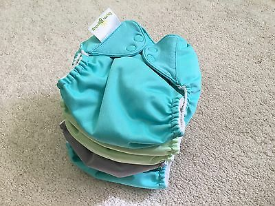 Bum Genius 5.0 Cloth Diapers Covers Baby Lot Of 6