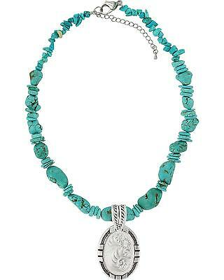 Montana Silversmiths New Traditions Four Directions Necklace Silver One Size
