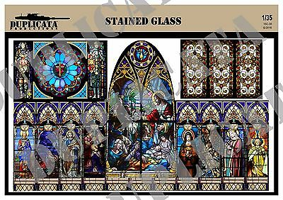 Diorama Accessory - 1/35 Stained Glass