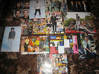 1D, One Direction, Harry Styles, posters, clippings (55 PAGES)