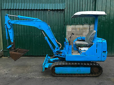 Kobelco SK024 Mini Digger Excavator 2.7ton - Rubber tracks ###TRADE PRICE###