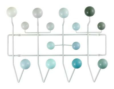 Vitra Eames 'Hang it All' Wall Rack - White Tones -with Authenticity Certificate