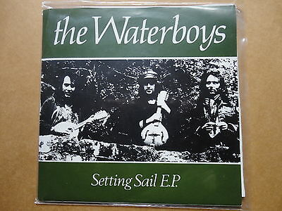 "The Waterboys-Setting Sail Ep Come Live With Me + 2 Unofficial 7"" Unplayed Vinyl"